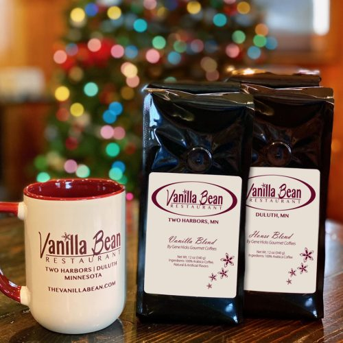 VB Coffee Club Vanilla Blend or House Blend and mug